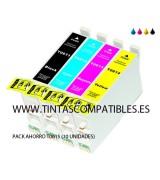 Pack ahorro de Cartucho compatible EPSON T0615: T0611 - 20 ML - T0612 - T0613 - T0614 - 18 ML