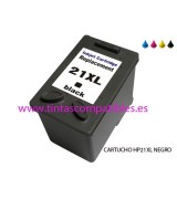 Tinta compatible HP 21 XL - Negro - 20 ML