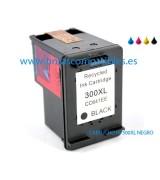 Tinta compatible HP 300 XL - Negro - 18 ML