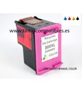 Tinta compatible HP 300 XL - Color - 18 ML
