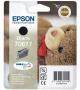 Cartucho de tinta ORIGINAL EPSON T0611 - C13T06114010 Negro