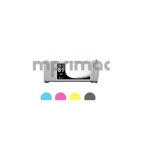 Cartucho de tinta HP 81 compatible / Tinta HP C4930A Negro