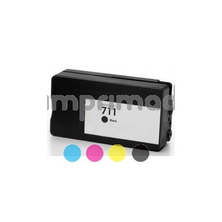 Cartucho de tinta compatible HP 711 / Cartuchos HP CZ133A