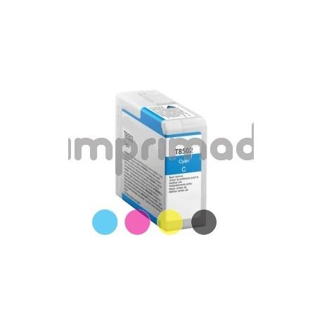 Cartucho de tinta compatible Epson T8502