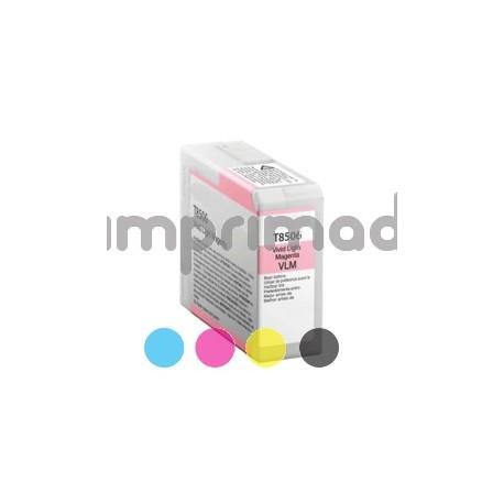 Cartuchos tinta genéricos Epson T8506 / Compatibles Epson T8506