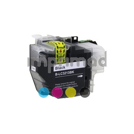 Catuchos tinta compatibles Brother LC 3213 / Brother LC 3211