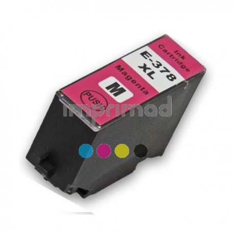 Cartuchos tinta compatibles Epson T3783 / Tinta compatible Epson T3793 / Cartuchos Epson 378XL compatibles
