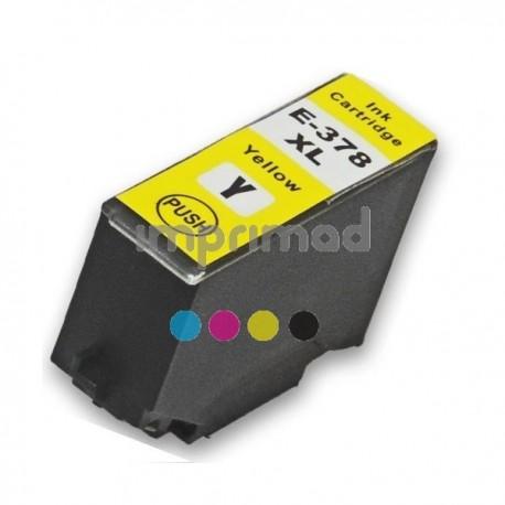 Cartuchos tinta alternativos Epson T3784 / Cartucho alternativo Epson T3794 / Cartuchos alternativos Epson 378XL