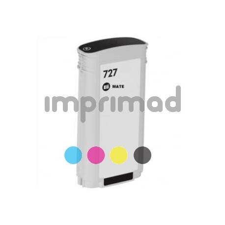 Cartuchos tinta compatibles HP 727