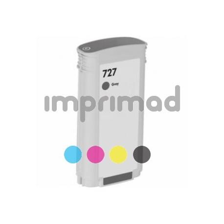 Cartuchos de tintas compatibles HP 727