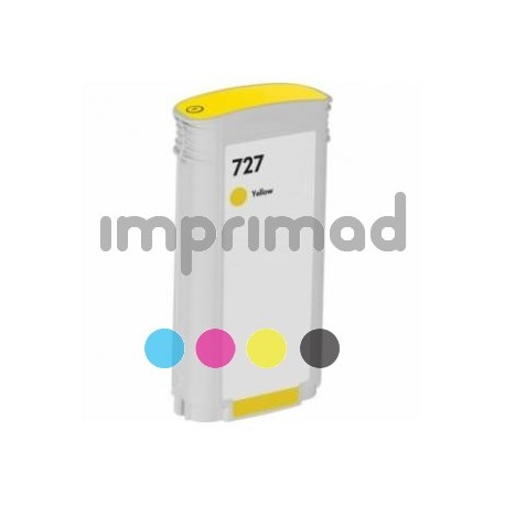 Cartuchos de tinta remanufacturados HP 727