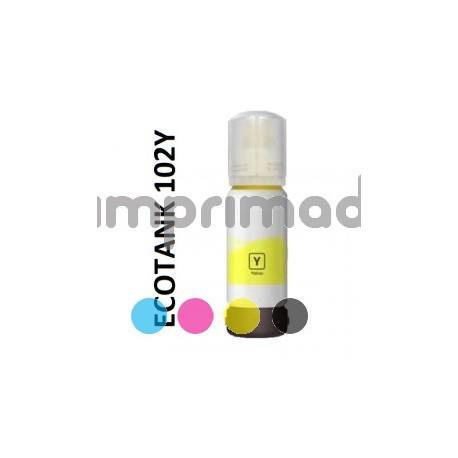 Botellas de tinta reciclada Epson 102 barata / Comprar cartucho tinta remanufacturados Epson