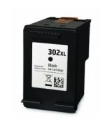Cartucho de tinta compatible HP 302XL / F6U68AE negro