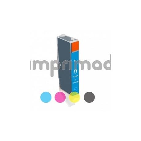 www.tintascompatibles.es - Cartucho de tinta remanufacturado Canon CLI571XL / Canon 0332C001 cyan
