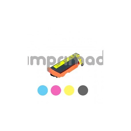 Tienda Cartuchos tinta reciclados Epson T3364 / T3344 / 33XL amarillo