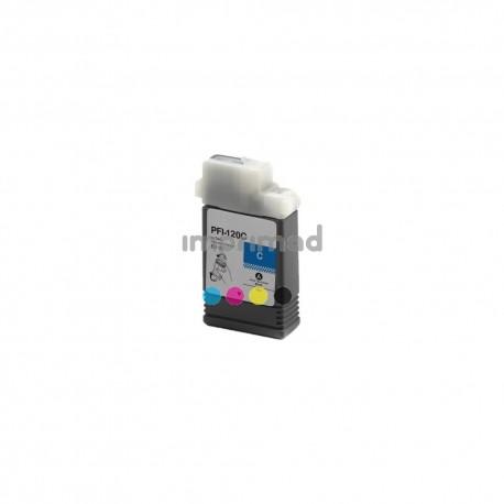 Cartucho tinta compatible Canon PFI120 Cyan
