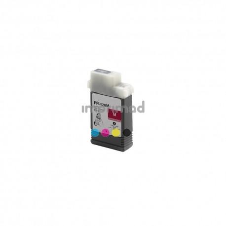 Cartucho tinta compatible baratos Canon PFI120 magenta