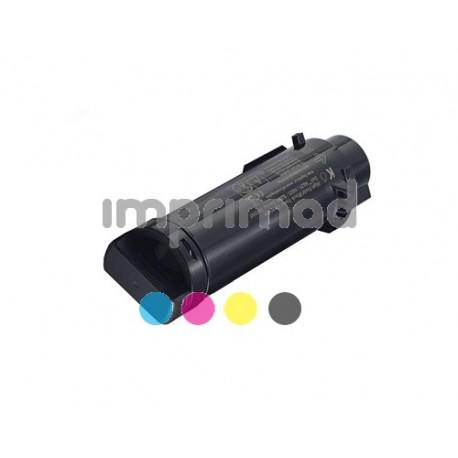 www.tintascompatibles.es - Toner compatible Dell H625 - H825 - S2825 Negro