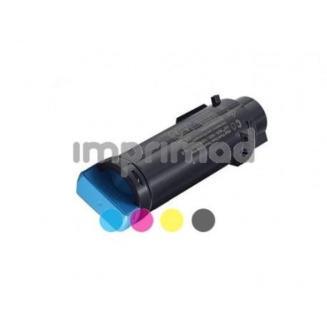 www.tintascompatibles.es - Toner Dell H625 - H825 - S2825 Cyan
