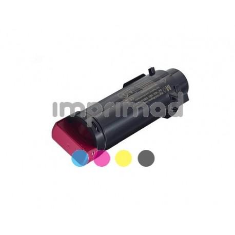 www.tintascompatibles.es - Toner reciclado Dell H625 - H825 - S2825 Magenta