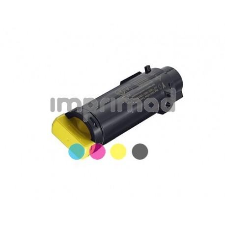 www.tintascompatibles.es - Toner remanufacturado Dell H625 - H825 - S2825 Amarillo