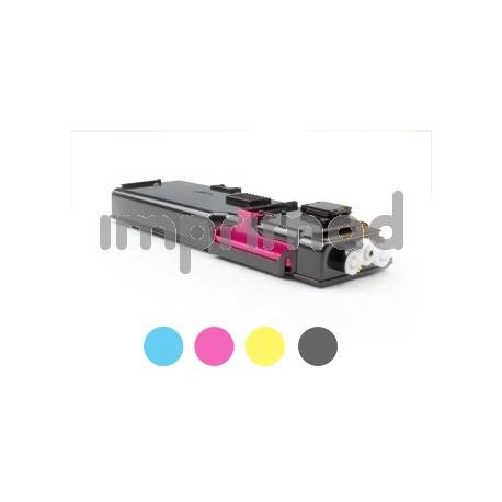 www.tintascompatibles.es - Toner reciclados Dell C3760 / Dell C3765DNF magenta