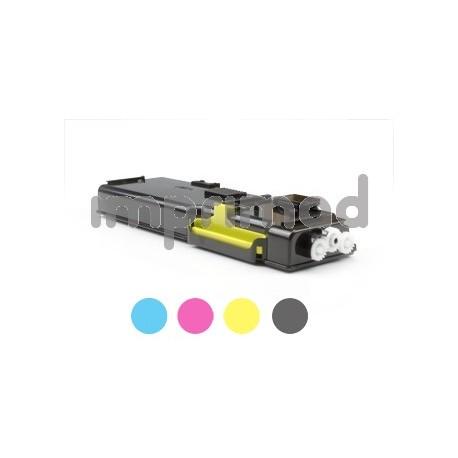 www.tintascompatibles.es - Toner remanufacturados Dell C3760 / Dell C3765DNF amarillo