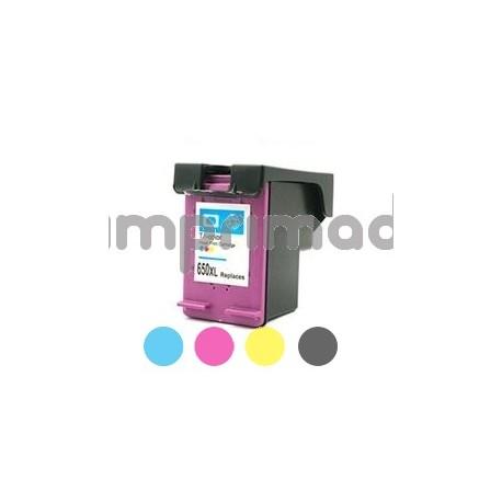 www.tintascompatibles.es - Cartucho Tinta compatible HP 650XL / CZ102AE / Tricolor