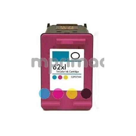 www.tintascompatibles.es - Cartucho de tinta reciclado HP 62XL / C2P07AE tricolor