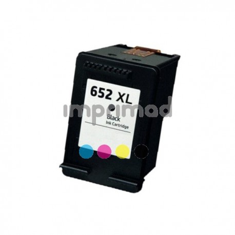 Cartucho de tinta compatible HP 652XL Negro / Tintascompatibles.es