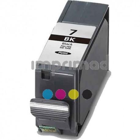 Cartuchos tinta compatibles Canon PGI7 Negro / Tinta impresora Canon