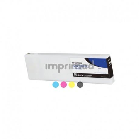Cartucho tinta reciclados Epson SJIC30P Negro