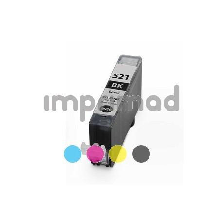 Cartucho barato CLI 521 - Negro - 10 ML