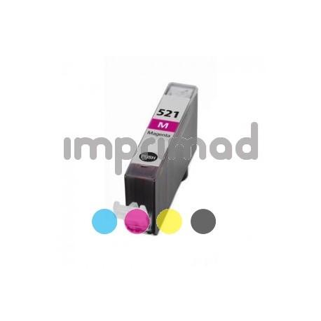 Tintas Canon CLI 521 - Magenta - 10 ML