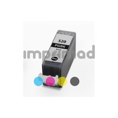 Tinta barata PGI 520 - Negro - 20 ML