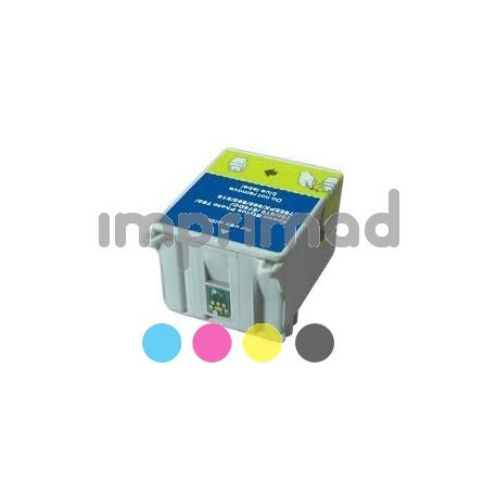 Cartucho Epson compatible T008 / Tinta compatible Epson T007