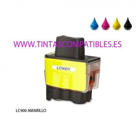Cartucho compatible BROTHER LC900 - Amarillo - 15 ML