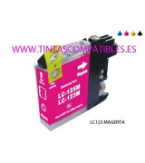 Cartucho compatible BROTHER LC123M / LC121M - Magenta - 10 ML