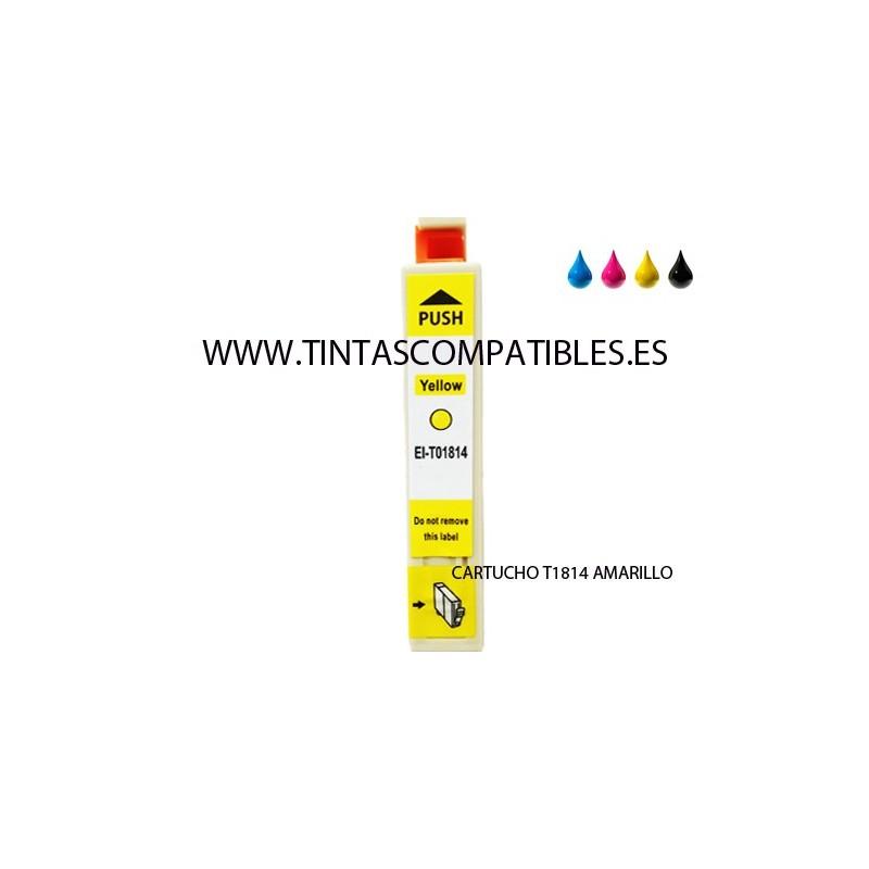 Comprar Cartucho de tinta compatible Epson T1814 - T-1814 ...