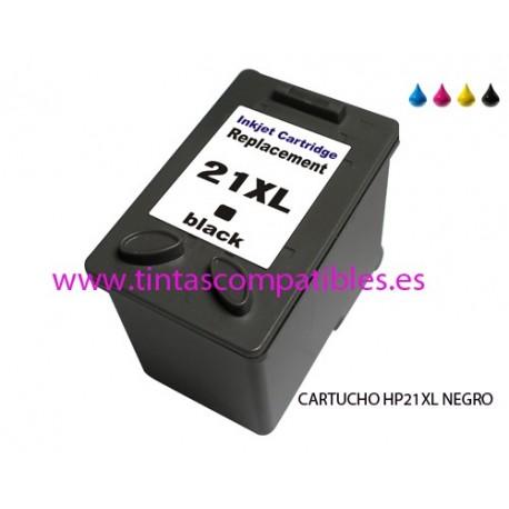 Tinta compatible HP 21 XL / Cartuchos tinta compatibles HP 21XL