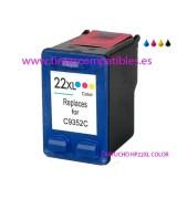 Cartucho compatible HP 22 XL - Tintas baratas HP 22XL