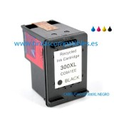 Tinta compatible HP 300 XL - Negro - 18 ML