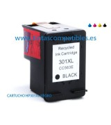 Tinta compatible HP 301 XL - Negro - 18 ML