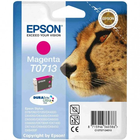 Cartucho de Tinta ORIGINAL EPSON T0713 - C13T07134011 Magenta