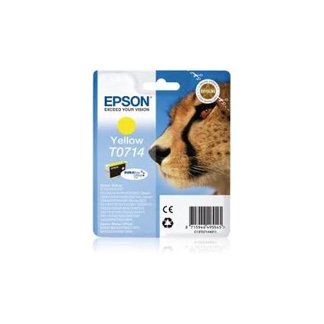 Cartucho de Tinta ORIGINAL EPSON T0714 - C13T07144011 Amarillo