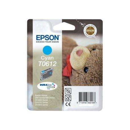 Cartucho de tinta ORIGINAL EPSON T0612 - C13T06124010 Cyan