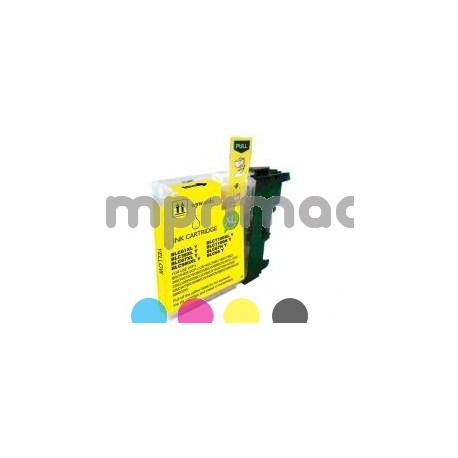 Cartucho Brother LC 22E compatible / Tinta reciclada Brother LC22EY