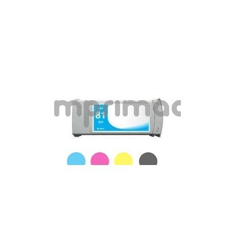 Cartucho de tinta barato HP 81 / Tinta barata HP C4931A
