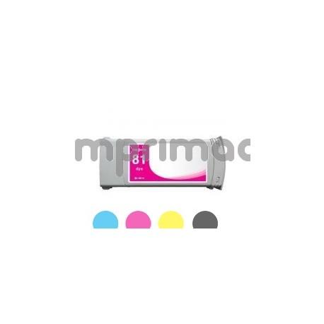 Cartucho de tinta compatible HP 81 / Tinta compatible HP C4932A
